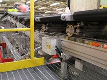 Crossbelt Sorter [Luggage conveyor belt]
